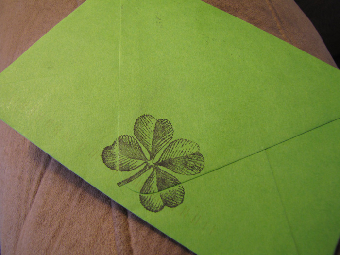 Green Envelope