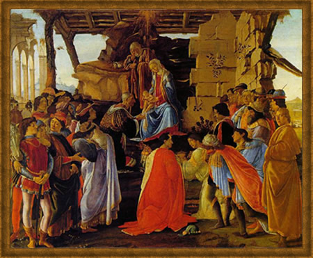 Adoration by Botticelli